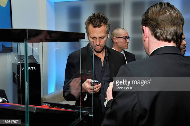 Guests attend Vertu and Gelila and Wolfgang Puck Celebrate the Oscars and Dream for Africa Foundation at CUT on February 23, 2012 in Beverly Hills,...