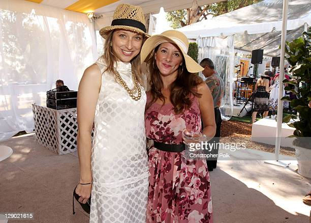Guests attend Veuve Clicquot Polo Classic Los Angeles at Will Rogers State Historic Park on October 9, 2011 in Los Angeles, California.