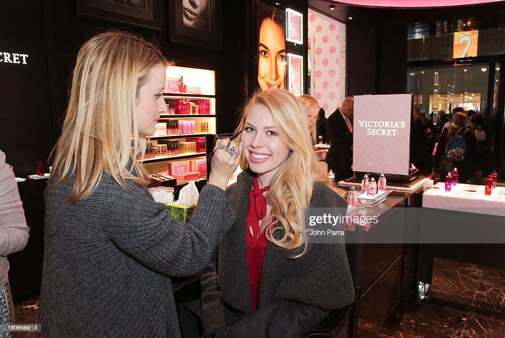 Guests attend Victoria's Secret Angels celebrate Valentine's Day with fans at Victoria's Secret, Herald Square on February 6, 2013 in New York City.