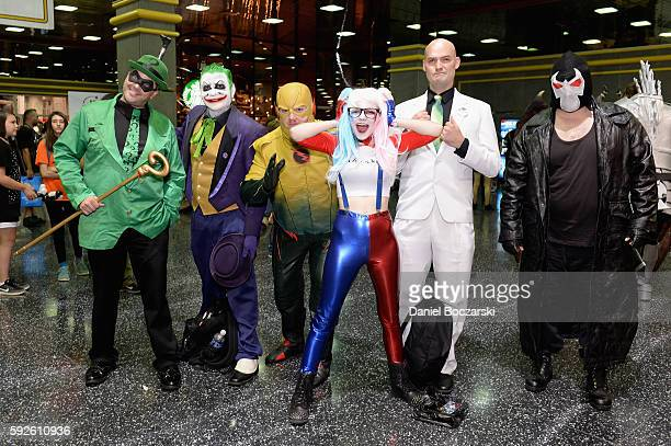 Guests attend Wizard World Comic Con Chicago 2016 Day 3 at Donald E Stephens Convention Center on August 20 2016 in Rosemont Illinois