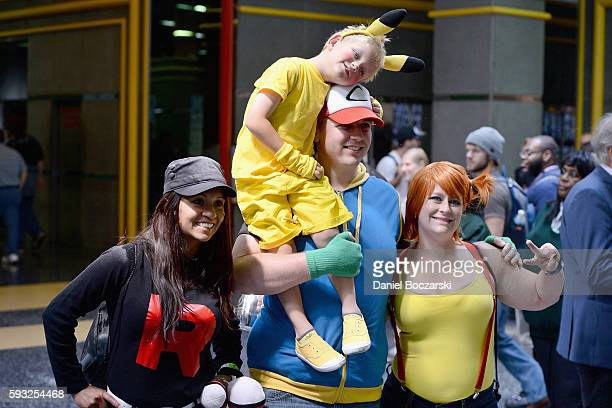 Guests attend Wizard World Comic Con Chicago 2016 Day 4 at Donald E Stephens Convention Center on August 21 2016 in Rosemont Illinois
