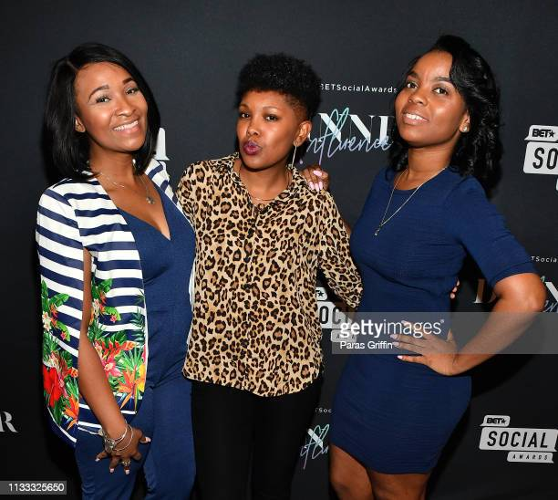 Guests attends 2018 BET Social Awards Dinner at TWELVE Atlantic Station on March 02 2019 in Atlanta Georgia