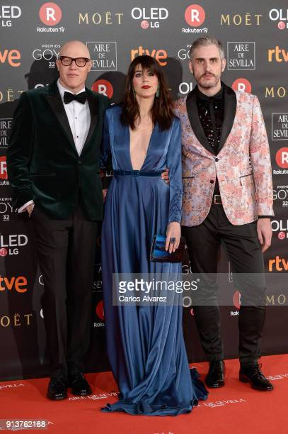 Guests attends Goya Cinema Awards 2018 at Madrid Marriott Auditorium on February 3 2018 in Madrid Spain