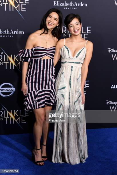 Guests attends Premiere Of Disney's 'A Wrinkle In Time' Arrivals on February 26 2018 in Los Angeles California