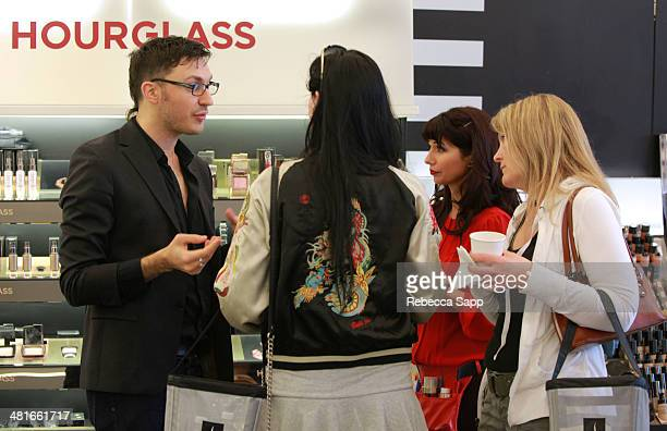 Guests attends Sephora VIB Rouge Spring Social at Sephora Santa Monica on March 30 2014 in Santa Monica California