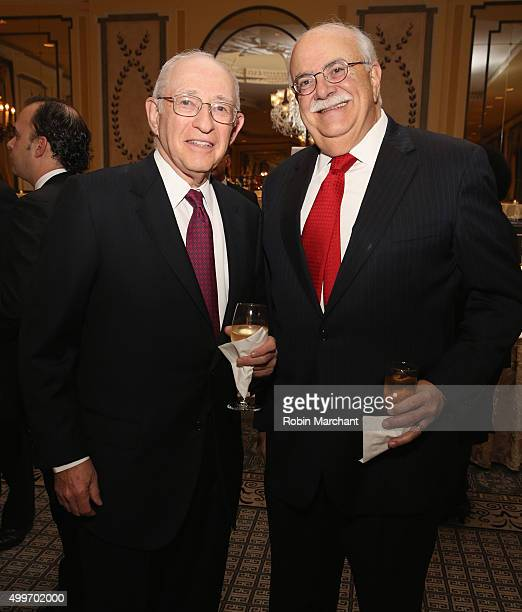 Guests attends the Prostate Cancer Foundation Invites You To The 2015 New York Dinner With Celebrity Hosts Whoopi Goldberg John O'Hurley At The...