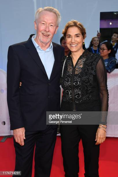 Guests attends the Radioactive premiere during the 2019 Toronto International Film Festival at Princess of Wales Theatre on September 14 2019 in...