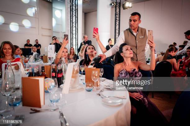 Guests attends the Inaugural 'World Bloggers Awards' during the 72nd annual Cannes Film Festival on May 24 2019 in Cannes France The 'World Bloggers...