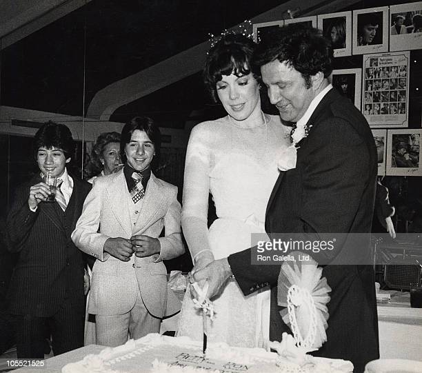 guests Betty Galella and Ron Galella during Ron Galella's Wedding Reception April 22 1979 at New York City Disco in New York City New York United...