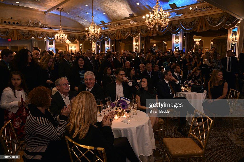 Festival of Lights Reception Honoring President Of Israel Reuven Rivlin Hosted By Ronald S. Lauder And Ambassador Danny Danon : Foto jornalística