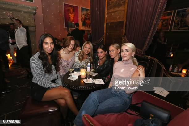 Guests celebrate the launch of Mission Magazine with Belvedere Vodka at Rose Bar at Gramercy Park Hotel on September 6 2017 in New York City