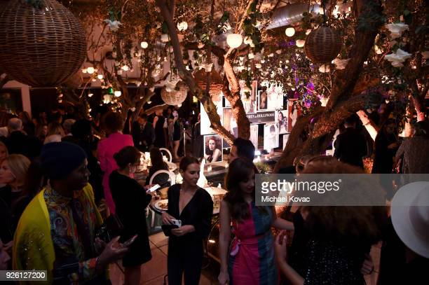 Guests celebrate with Belvedere Vodka at Vanity Fair and Lancome Paris Toast Women in Hollywood hosted by Radhika Jones and Ava DuVernay on March 1...