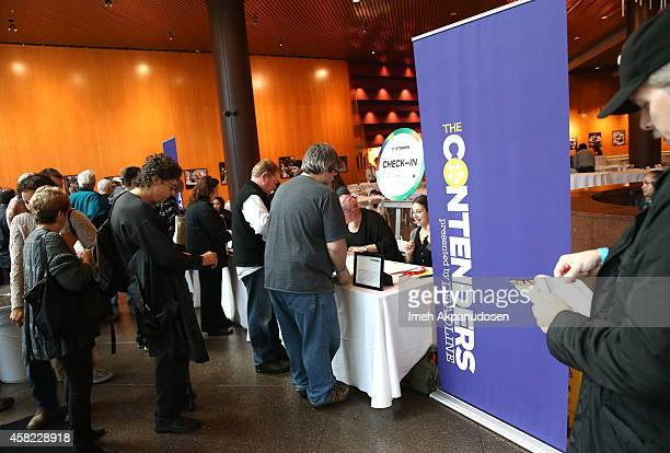 Guests check in for Deadline's The Contenders at DGA Theater on November 1 2014 in Los Angeles California