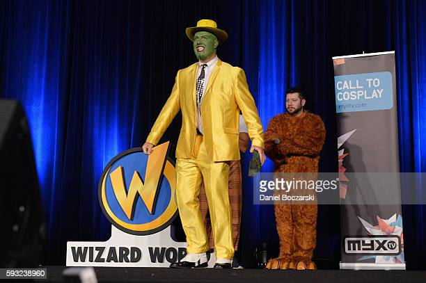 Guests cosplay during Wizard World Comic Con Chicago 2016 Day 3 at Donald E Stephens Convention Center on August 20 2016 in Rosemont Illinois