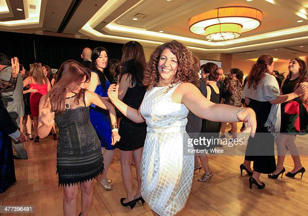 Guests dance at the PARS Equality Center 4th Annual Nowruz Gala at Marriott Waterfront Burlingame Hotel on March 8 2014 in Burlingame California