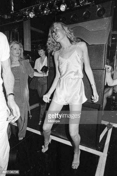 Guests dancing at the new nightclub Stringfellows in Covent Garden, London, 1st August 1980.