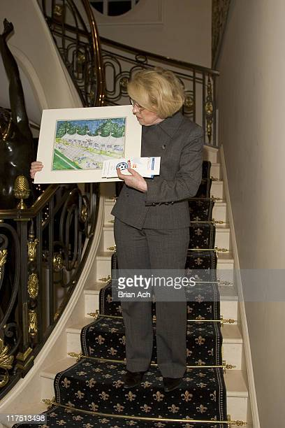 Guests during Carl and Gail Icahn Host a KickOff Cocktail Party at IcahnOs Home in New York City New York United States