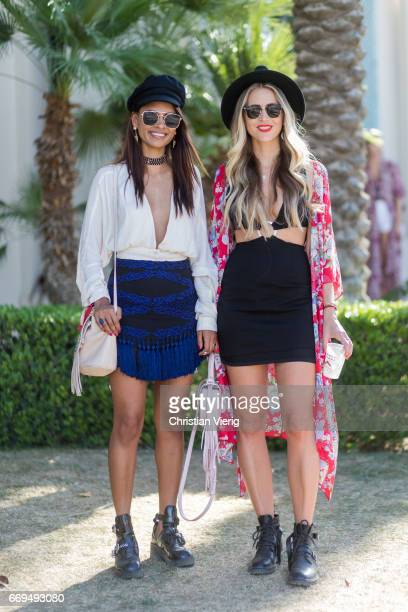 Guests during day 3 of the 2017 Coachella Valley Music Arts Festival Weekend 1 on April 16 2017 in Indio California
