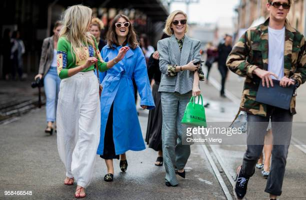 Guests during MercedesBenz Fashion Week Resort 19 Collections at Carriageworks on May 14 2018 in Sydney Australia