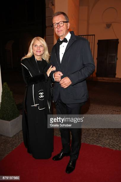 Guests during the 80th birthday party of Roland Berger at Cuvillies Theatre on November 25 2017 in Munich Germany