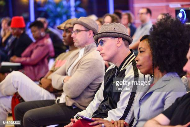 Guests during the Advocacy Town Hall meeting at The Kimmel Center on September 12 2017 in Philadelphia Pennsylvania hosted by the Philadelphia...