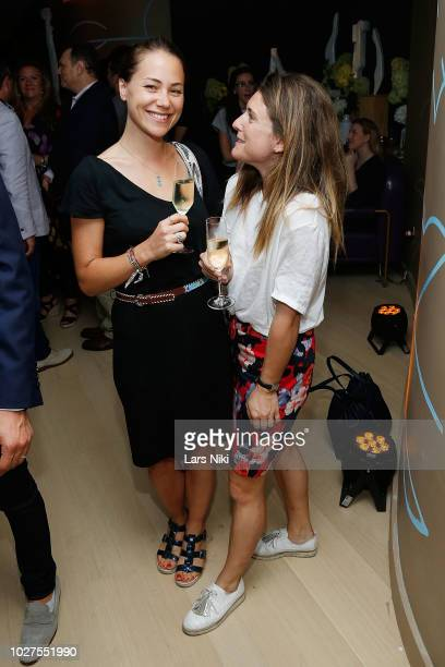 Guests during the Bluebird London New York City launch party at Bluebird London on September 5, 2018 in New York City.