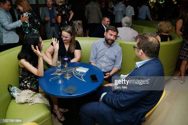 Guests during the Bluebird London New York City launch party at Bluebird London on September 5 2018 in New York City