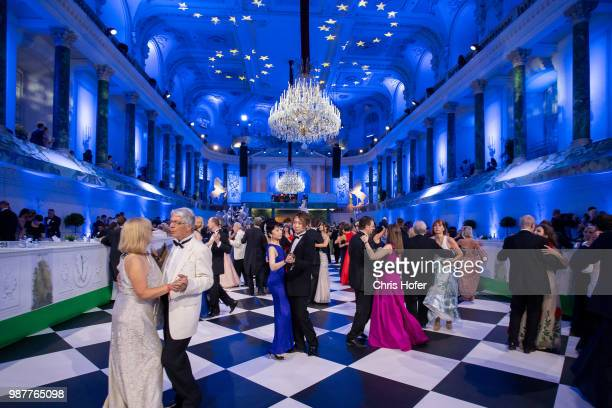 Guests during the Fete Imperiale 2018 on June 29, 2018 in Vienna, Austria.