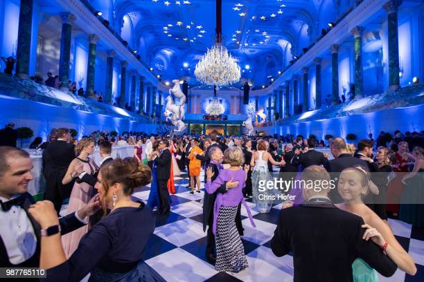 Guests during the Fete Imperiale 2018 on June 29 2018 in Vienna Austria