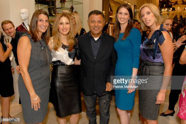 Guests Elie Tahari Lauren Brodie and Tiffany Tankersley attend FASHION'S NIGHT OUT at ELIE TAHARI SOHO with Performance by ALEXA RAY JOEL at Elie...