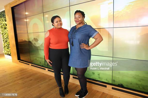 Guests enjoy QA Luncheon and Advanced Screening of 'Family Or Fiancé' at OWN Offices at The Lot on March 14 2019 in West Hollywood California