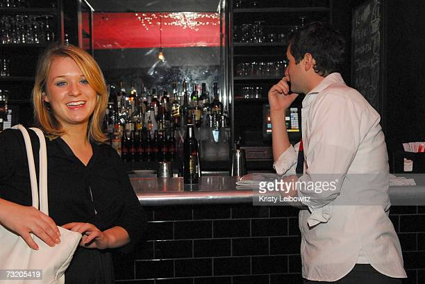 Guests enjoy the Erin Fetherston And Jalouse Magazine Party at Bella on February 4 2007 in New York