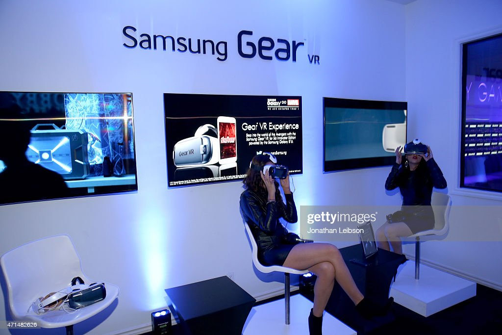 Samsung Celebrates the Opening Of The Samsung Studio LA : News Photo
