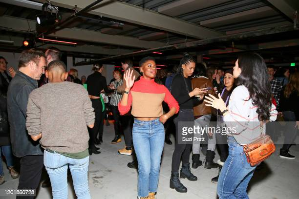 Guests enjoy the WarnerMedia and ATT Sundance KickOff Party at Lateral on January 24 2020 in Park City Utah 731296