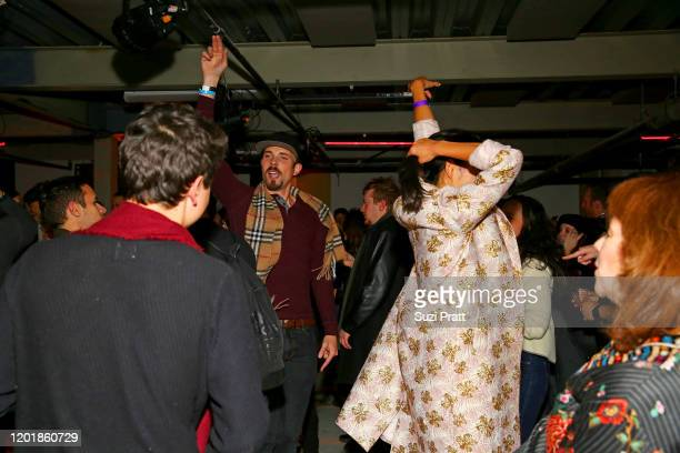 Guests enjoy the WarnerMedia and AT&T Sundance Kick-Off Party at Lateral on January 24, 2020 in Park City, Utah. 731296