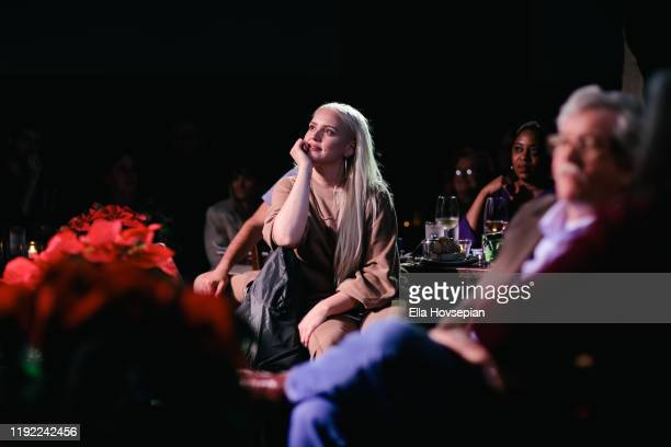 Guests enjoying the show at Rockwell Table and Stage on December 05 2019 in Los Angeles California