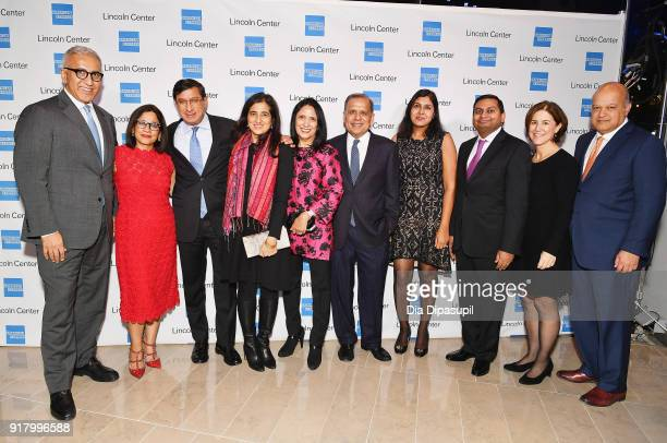 Guests from McKinsey Co attend the Winter Gala at Lincoln Center at Alice Tully Hall on February 13 2018 in New York City