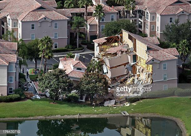 Guests had only 10 to 15 minutes to escape the collapsing buildings at the Summer Bay Resort on US Highway 192 in the Four Corners area see Monday...