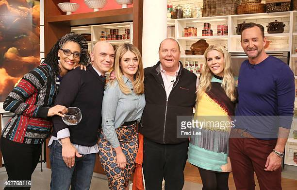 THE CHEW Guests include Busy Phillips and Randall Park on Tuesday February 3 2015 on ABC's 'The Chew' 'The Chew' airs MONDAY FRIDAY on the ABC...