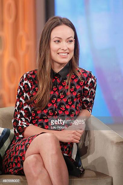 THE VIEW Guests include Olivia Wilde and Luke Wilson Misty Copeland airing today Monday October 12 2015 on ABC's The View The View airs MondayFriday...