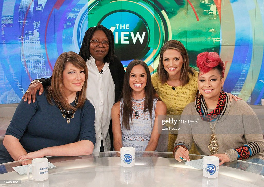 THE VIEW - Guests include Olivia Wilde and Luke Wilson; Misty Copeland airing today, Monday, October 12, 2015 on ABC's 'The View.' 'The View' airs Monday-Friday (11:00 am-12:00 pm, ET) on the ABC Television Network.