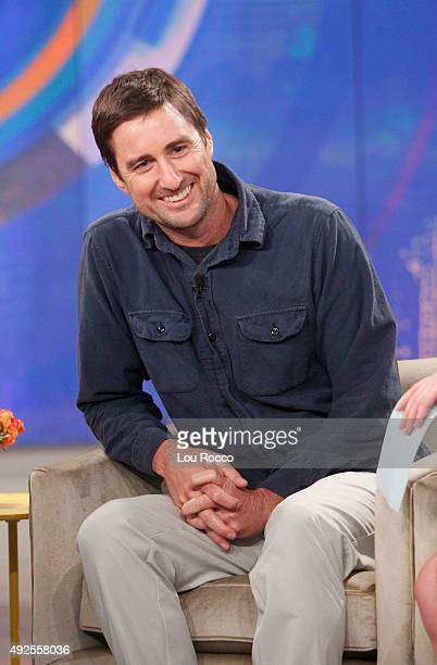 THE VIEW Guests include Olivia Wilde and Luke Wilson Misty Copeland airing today Monday October 12 2015 on ABC's 'The View' 'The View' airs...