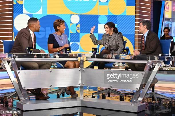 "Guests include Vanessa Hudgens and Kim Petras. ""Good Morning America"" airs M-F, 7am-9am, ET on ABC. MICHAEL STRAHAN, ROBIN ROBERTS, VANESSA HUDGENS,..."