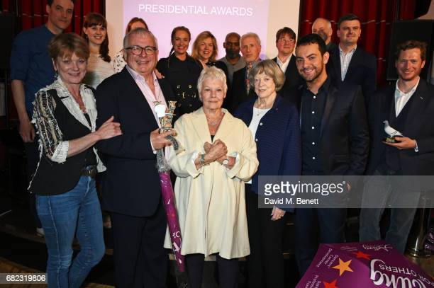 Guests including KJ Hippensteel Samantha Bond Christopher Biggins Dame Judi Dench Dame Maggie Smith Ben Forster Tamzin Outhwaite Janie Dee George...