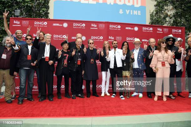 Guests including Peter Jackson David Lynch Nils Lofgren Richard Lewis Barbara Bach Ringo Starr Sheila E and Don Was attend the Ringo Starr 11th...