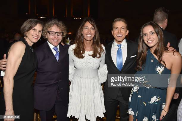 Guests Lisa Silverstein Baruch Shemtov and Ariel Silverstein attend the 2018 Beit Ruth Gala at Gotham Hall on April 26 2018 in New York City