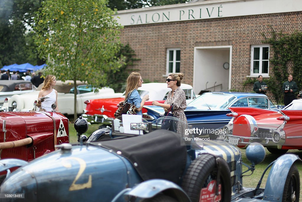 Salon Prive Opens Showcasing The Worlds Finest And Most Expensive Cars : News Photo