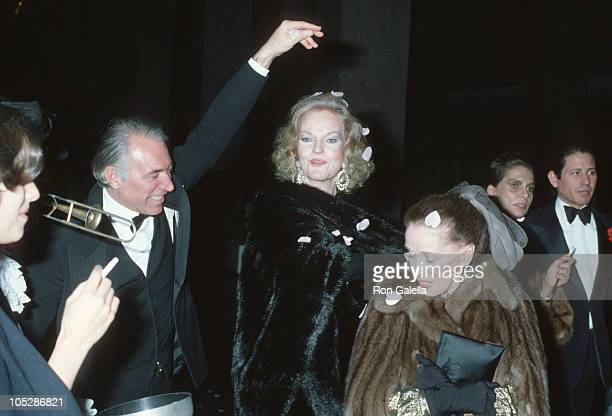 guests Martha Graham and Doris Duke during Steve Rubell's Birthday Party Hosted by Halston at Olympic Towers in New York City New York United States