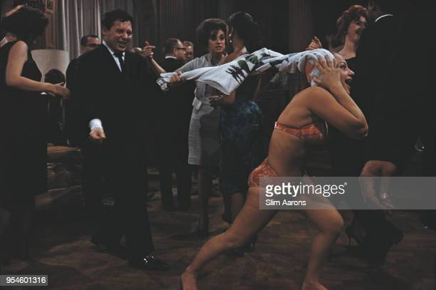 Guests of American publisher Hugh Hefner at a party being held at the Playboy Mansion Chicago 1961