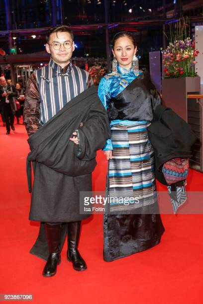 Guests of Tibet attend the closing ceremony during the 68th Berlinale International Film Festival Berlin at Berlinale Palast on February 24 2018 in...